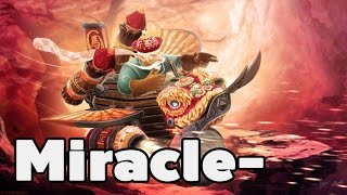 Dota 2 - Miracle- 8100MMR Top 1 MMR World Plays Gyrocopter Ranked Match Gameplay