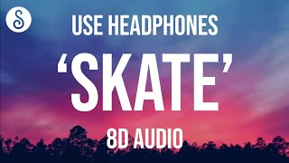 Bruno Mars, Anderson .Paak, Silk Sonic - Skate (8D AUDIO)
