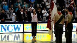 vuclip Brook Hall National Anthem UNCW