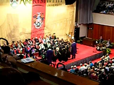 My graduation ceremony