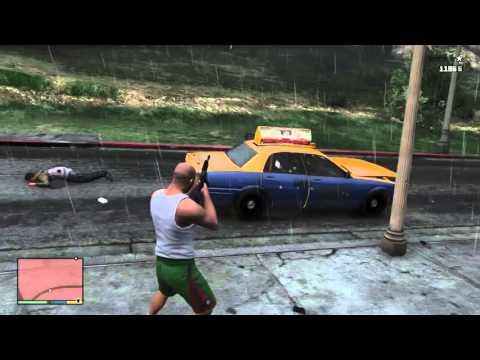 GTA V – Shotgun Fail