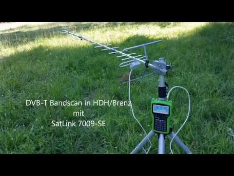 DVB-T Bandscan in Heidenheim an der Brenz