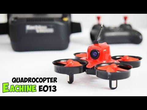 Фото Eachine E013 ● Квадрокоптер с FPV очками за 60$ - micro R/C Quadcopter