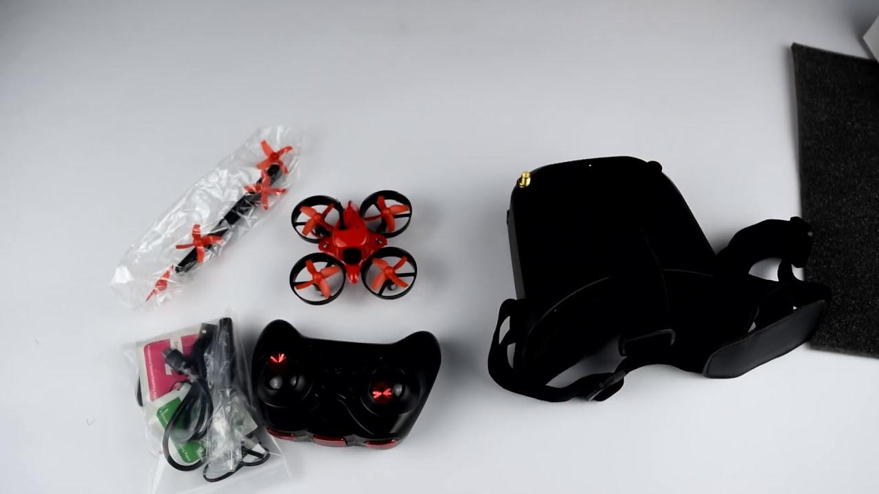 Eachine E013 ● Квадрокоптер с FPV очками за 60$ - micro R/C Quadcopter фото