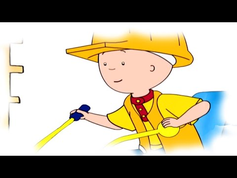 Funny Animated Cartoon Caillou | Caillou and the Big Slide | Animated Funny Cartoons for Children