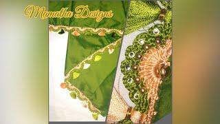 4th variety of flower shaped arch kuchchu |Bridal saree kuchchu