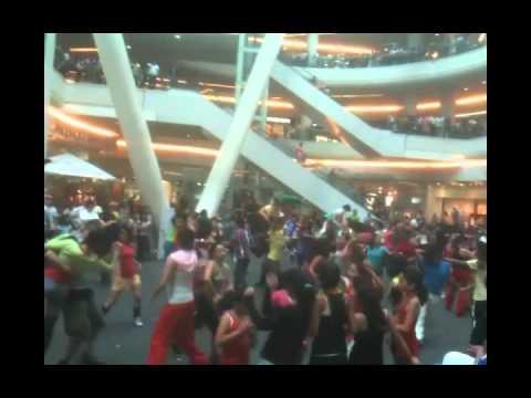 Energy Fitness Flashmob, Mexico City 06/18/2011