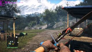 Far Cry 4 Gameplay msi gtx 970 gaming PC/Ultra/4K