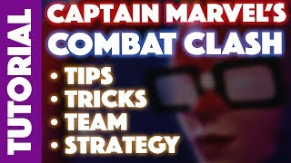 Captain Marvel Combat Clash: Tips, Tricks, Team and Strategy