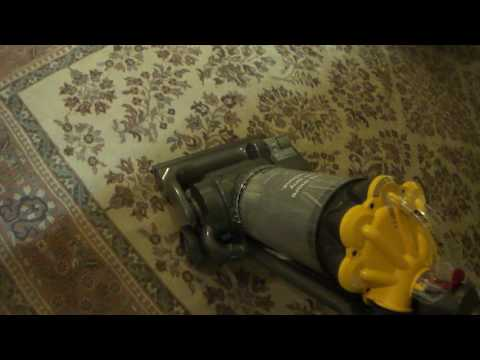 How work Dyson DC33 Multi Floor Upright Bagless Vacuum Cleaner
