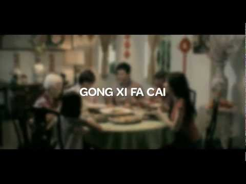 """BERNAS   Chinese New Year Commercial - Family Reunion Dinner """"Sek Fan"""" English"""