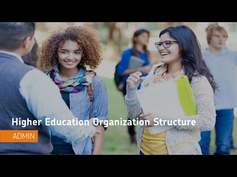 Concepts for Administrators - Higher Education Organization Structure - Administrators