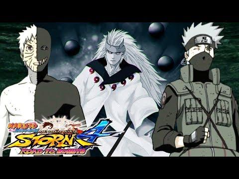 Naruto Shippuden - Ultimate Ninja Storm 4 #18 - OBITO E KAKASHI UNEM FORÇAS!