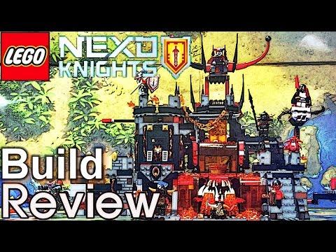 레고 넥소나이츠 제스트로의 화산속 은신처 70323 조립 과정 리뷰 Lego NEXO KNIGHTS Jestro's Volcano Lair build review