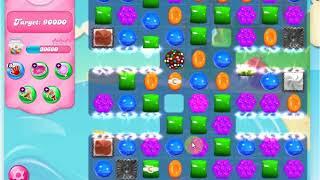 Candy crush saga level 1633  2 star