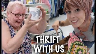I Filled My Cart at Goodwill! | Come Thrifting with Us! | Reselling