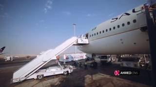 saudia 777 300er riyadh to jeddah   الخطوط السعودية من الرياض إلى جدة