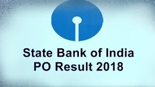 SBI PO Prelims Results 2018 Release Soon|CutOff Marks|Live|