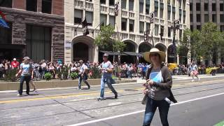 San Francisco Pride Parade 2015 Bank of the West