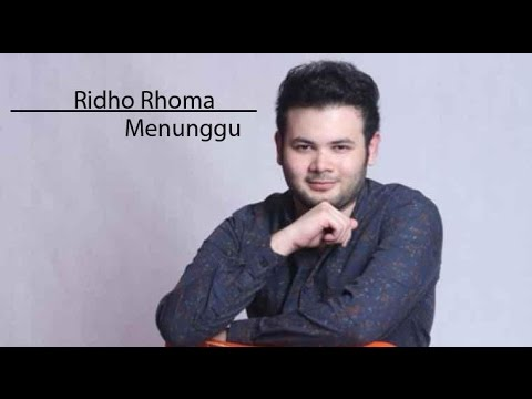 Ridho Roma Menunggu(Lyric Video)