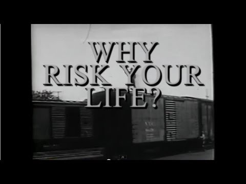 ▶  Why Risk Your Life??? A Railroad Safety Video