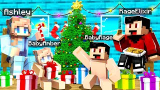 OUR FIRST CHRISTMAS IN MINECRAFT! (Holiday Special)