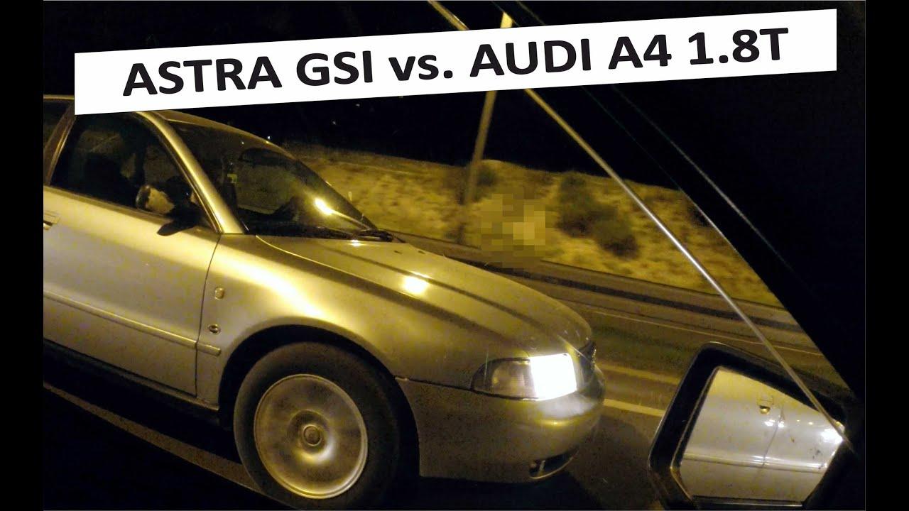 opel astra vs audi a4