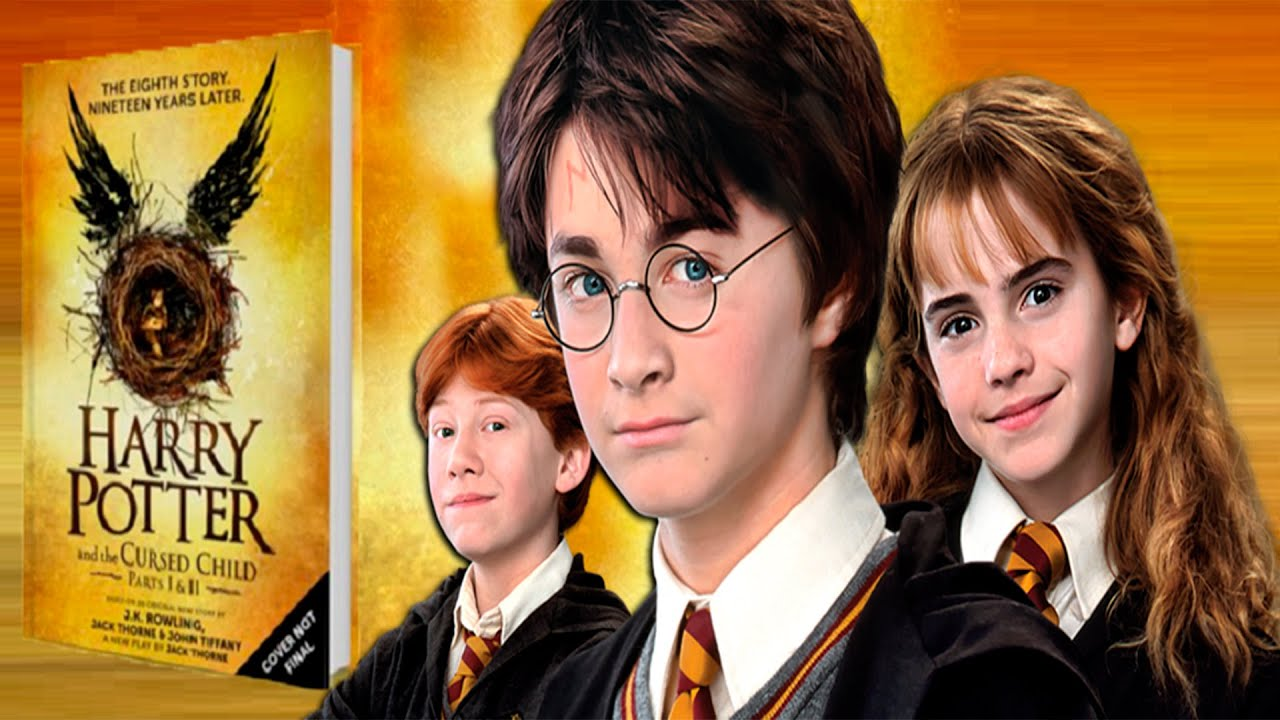 Libros De Harry Potter Online Nuevo Libro Harry Potter 8 Youtube