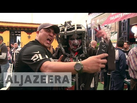 NFL's popularity growing in Mexico