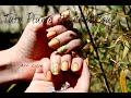 Nail Art Plume de Printemps - Nail Art Feather - Nail Art Lilye