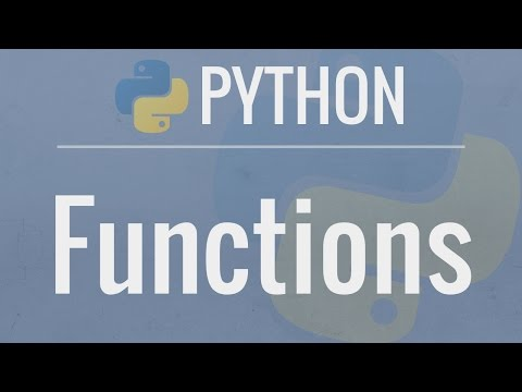 python-tutorial-for-beginners-8:-functions