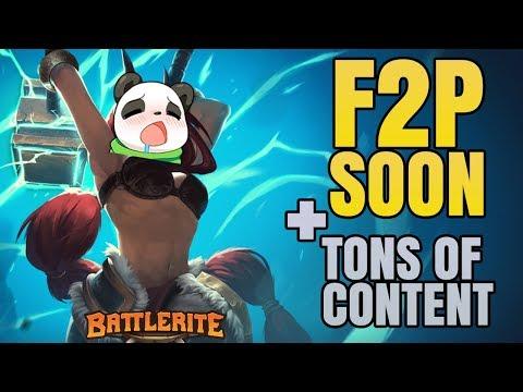 Battlerite F2P Date + HUGE Content Plan - New Game mode, More Champions, Battelrites Rework etc.