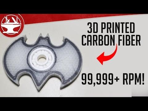 Carbon Fiber Fidget Spinner is INDESTRUCTIBLE! +GIVEAWAY