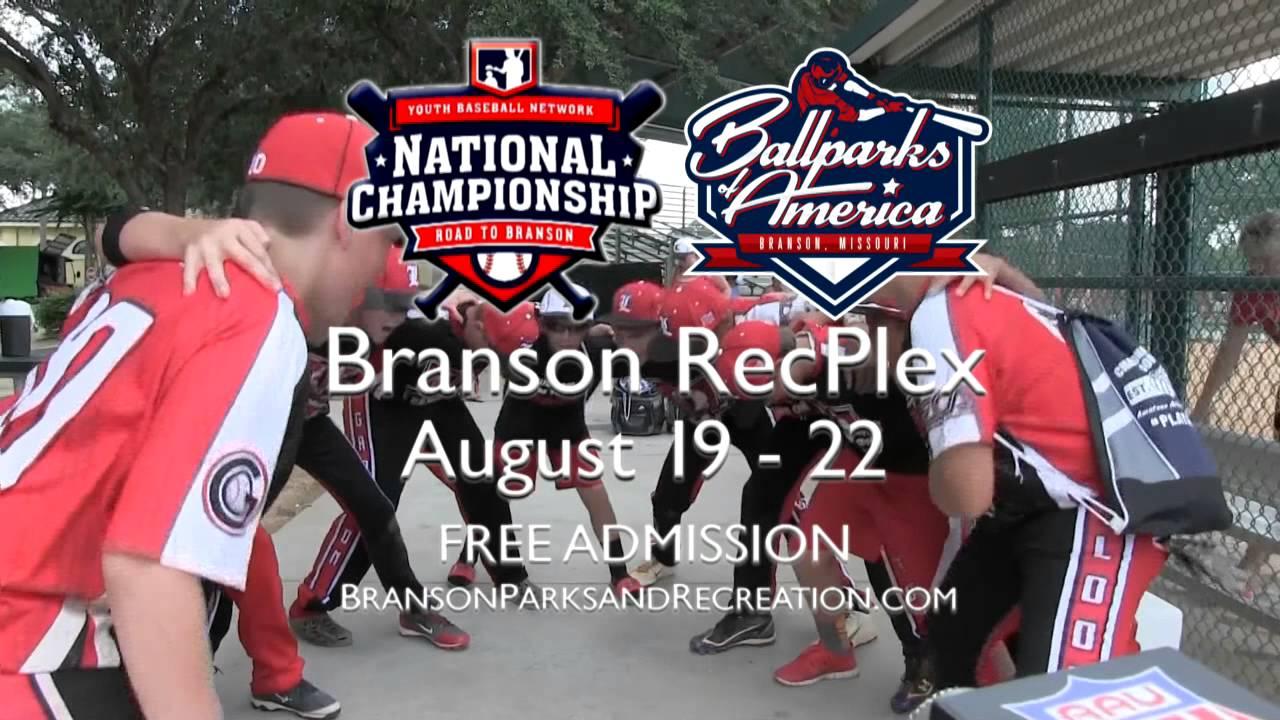 YBN Baseball Tournament Branson, Mo
