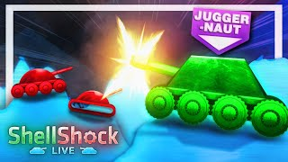 Me and my friends found these free tanks and started shooting them at each other! - Shellshock