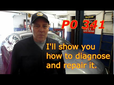 How to diagnose P0341 on a 2009 VW CC