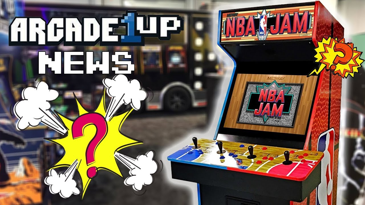 CES Arcade1UP NEWS & LEAKS NBA JAM? NEW Arcade 1up Risers & More | TUNA FTW