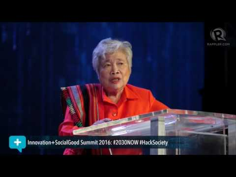 Social Good Summit 2016: DepEd Secretary Leonor Briones on teaching tomorrow's innovators