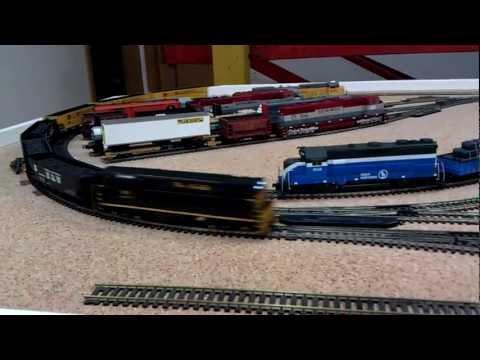 Tovorna vlakovna kompozicija za prevoz oglja H0