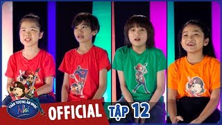 VIETNAM IDOL KIDS 2017 - TẬP 12 - GALA 7 - FULL HD