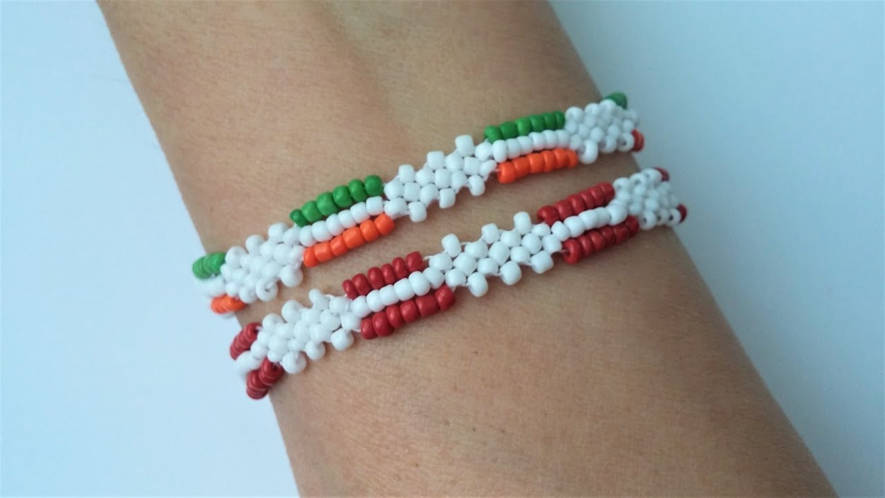 Easy Beaded Bracelet Tutorial Beginners Beading Bracelets