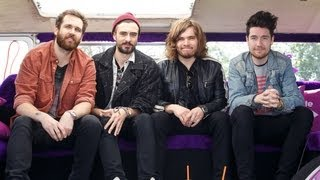 Isle of Wight Festival : Bastille backstage interview