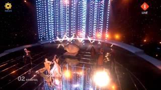 Eurovision 2010 HD Oslo - Armenia - Eva Rivas