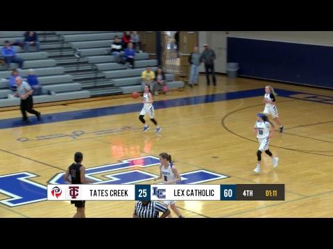 Girls HS Basketball - Tates Creek at Lexington Catholic