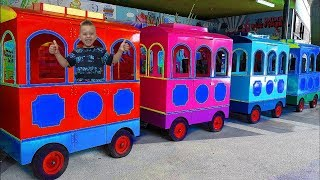 Wheels On The Bus  Nursery Rhymes for Babies Mark and Toys Videos for Kids