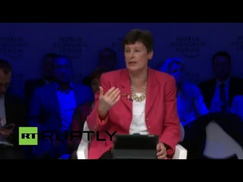 """LIVE: WEF 2016: """"What If Robots Go to War?"""" – session on the future of weapons industry"""