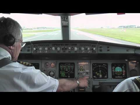 A340 Decolando de