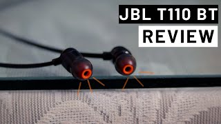 JBL T110BT Wireless Earphones Review - How Good is The Bass? | In HINDI