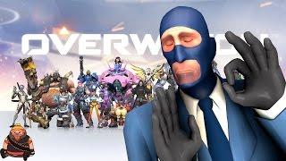 Overwatch vs TeamFotress 2 - русское сравнение героев