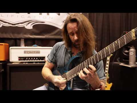 Rusty Cooley Playing Fortin Amps At NAMM 2019 Multicam With HQ Sound!